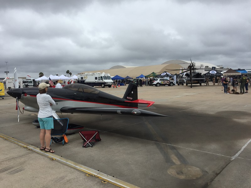 The RV-4 flew out from Grand Junction, CO for this event.
