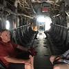 Inside the Osprey.