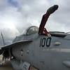 F-18 fuel probe out.