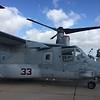 MV-22 Osprey tilt rotor.