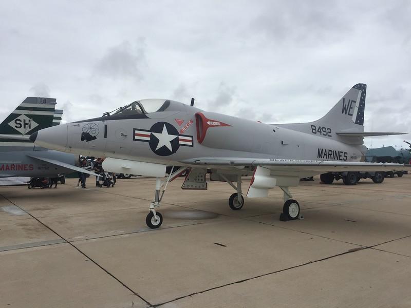A-4 Skyhawk.