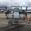 A civilian operated OV-10 Bronco was also on static display.