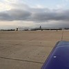 C-130 and a Blue Angel F-16 on the ramp.