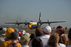 "USA 2009 - MCAS Miramar Air Show - US Marine Corps C-130 Hercules ""Fat Albert"" (Blue Angels)"