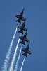 "USA 2009 - MCAS Miramar Air Show - US Navy ""Blue Angels""  (F/A-18 Hornets)"