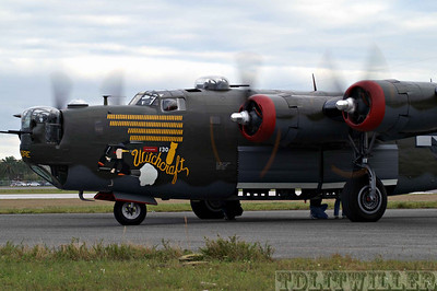 "Collings Foundation's B-24 painted as ""Witchcraft"""