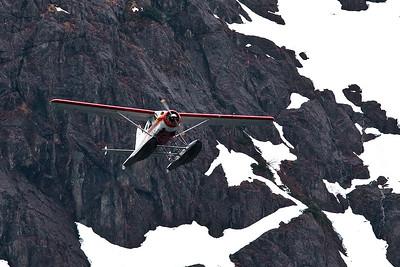 alaska float plane, Sitka