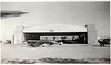 Hangar at West Mesa Airport, Albuquerque, NM. Ted Hill was an instructor for the Civilian Pilot Training program here prior to WW2.