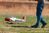 Members of a South Jersey Radio Contrel Airplane Club, flying at an airstrip near Mays Landing, New Jersey