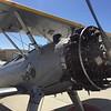 Stearman biplane.