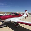 Keith's RV-7A. Freshly painted! He is flying this back to Georgia after getting it painted in Santa Maria, CA.