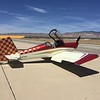 Ken's RV-7. Love the checkerboard tail and fade.