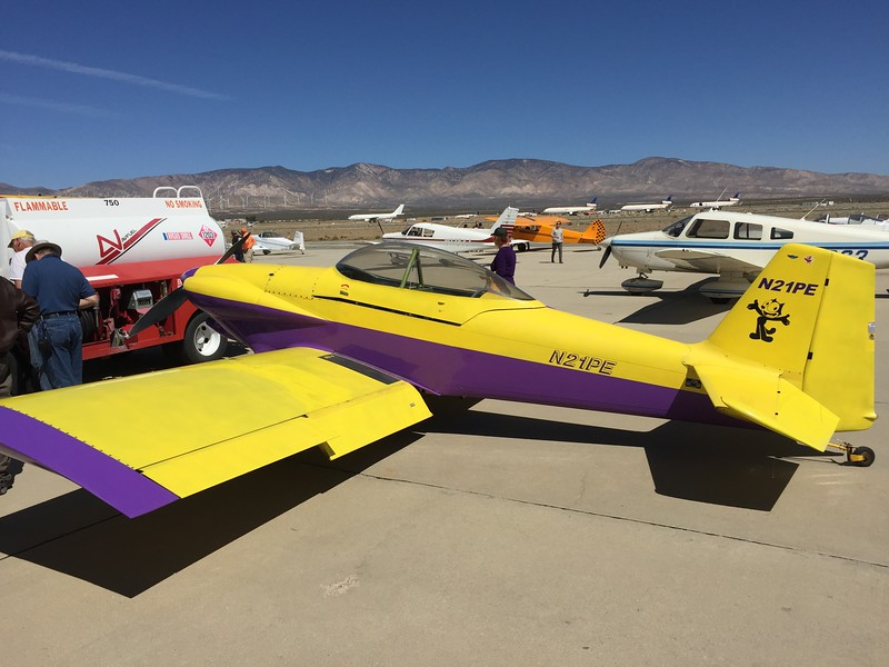 RV-4 with a bit of purple.