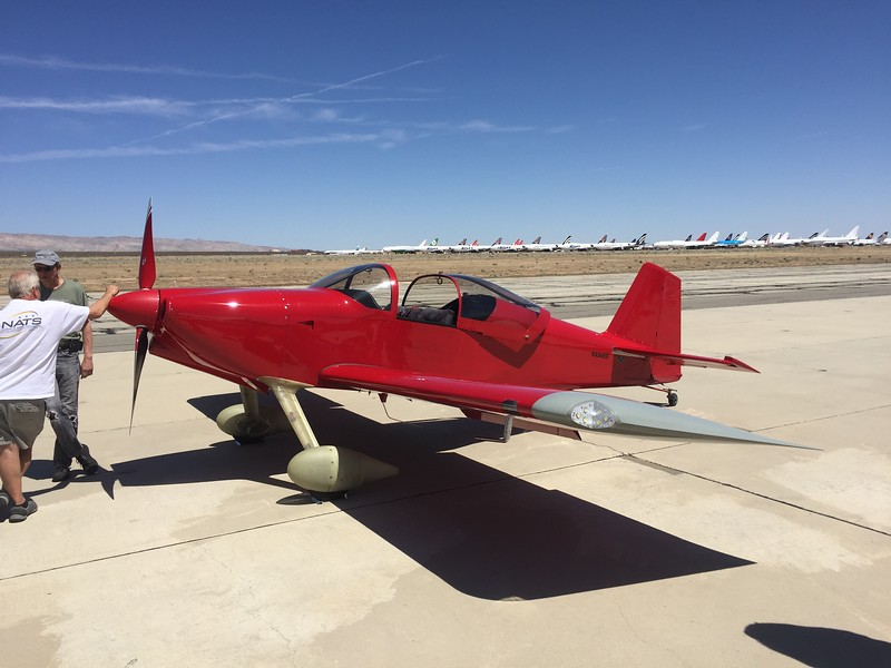 """RV-6. First one I've seen sporting an """"NX"""" number."""