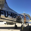 Tail end of the F-86. Speed brakes deployed. FU2 buddy! :-)