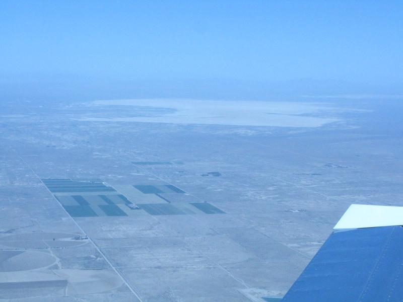 Edwards Dry Lake in the Mojave Desert.