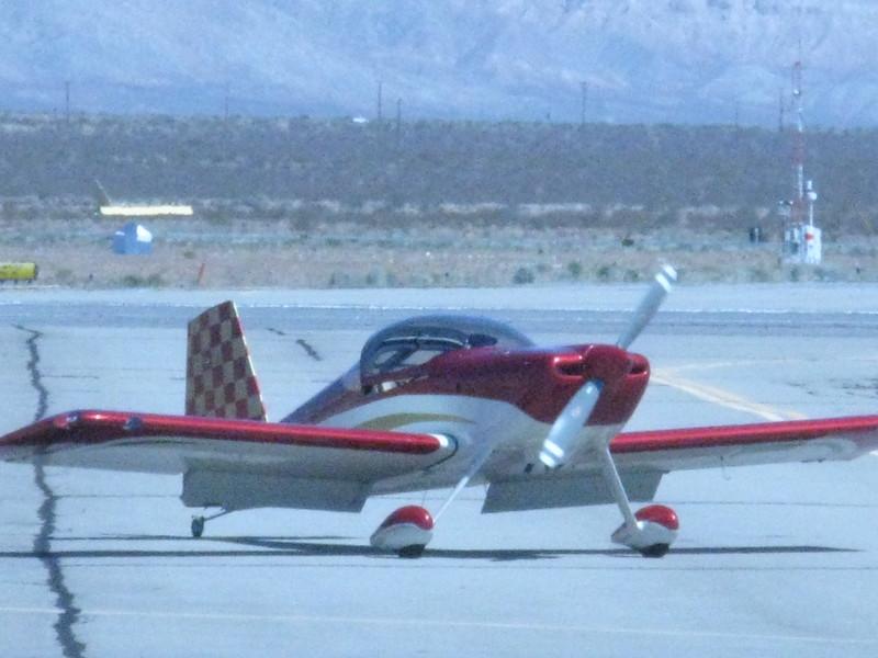 Ken, my hangar neighbor at Ramona, in his RV-7.