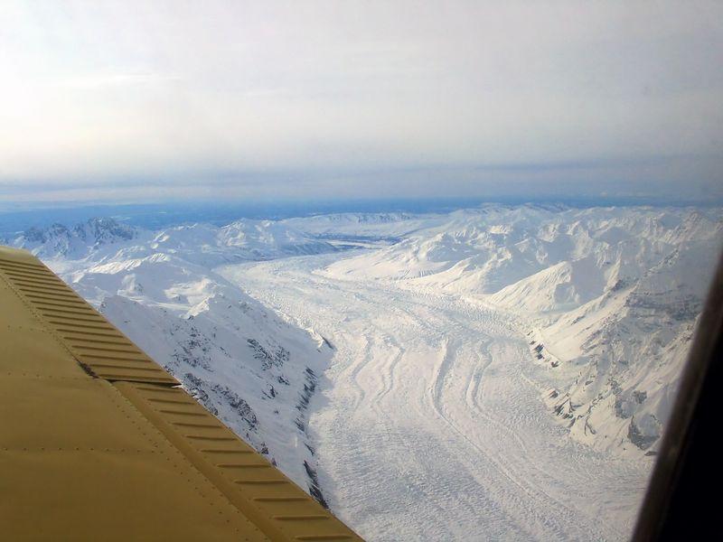 Tokositna Glacier