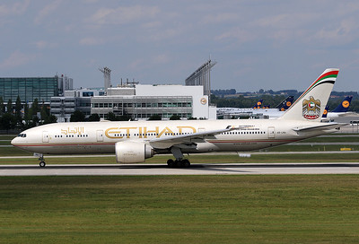 EY 160 from Dallas to Abu Dhabi made a brief stop at MUC on my birthday.