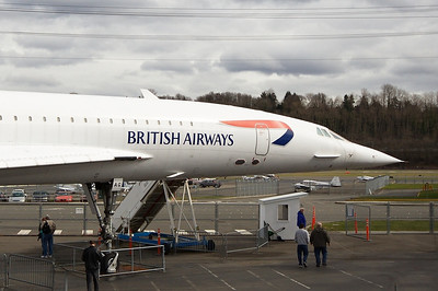 Aerospatiale-British Aerospace Concorde 102 British Airways G-BOAG (cn 214)