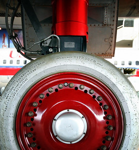 Lockheed M-21 US Air Force 60-6940 (cn 134) Close up of main landing gear