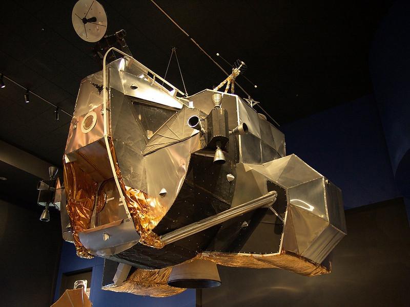 Lunar Excursion Module (LEM) - Full scale model