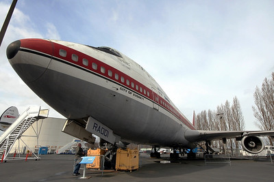 """Boeing 747-121 N7470 / RA001 (cn 20235/1) RA001 """"City of Everett""""  The protoype 747"""
