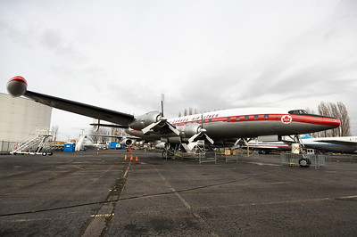 Trans-Canada Air Lines - TCA Lockheed L-1049G Super Constellation CF-TGE / 405 (cn 4544)  With it's curvaceous fuselage, sleek lines and triple tail, the Lockheed Super Constellation is one of the most beautiful airliners of all time.