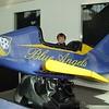 Young, aspiring pilot in training.