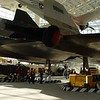 Rear View of SR-71 Blackbird