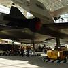 Rear View of SR-71 Blackbird