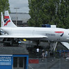 Last BA Concord, holder of record for fastest flight from New York to Seattle made on it's delivery to the museum.