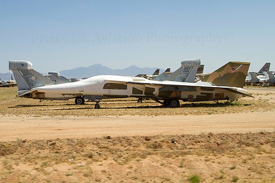 67-0091. General Dynamics F-111A Aardvark. USAF. Davis Monthan. 210512.