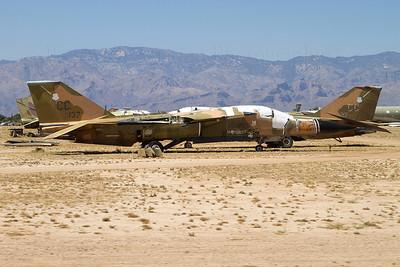 68-0137. General Dynamics F-111D Aardvark. USAF. Davis Monthan. 210512.