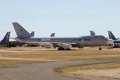 00-0001. Boeing 747-4G4F YAL-1A. USAF. Davis Monthan. 210512.