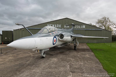 XN964. Blackburn Buccaneer  S.1. Royal Navy. Newark. 211017.