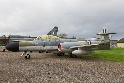 WS739. Gloster Meteor NF 14. RAF. Newark. 211017.