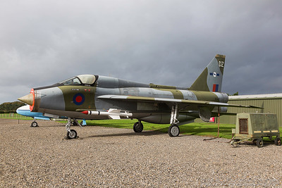 XS417. English Electric Lightning T5. RAF. Newark. 211017.