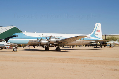 53-3240. Douglas VC-118A Liftmaster.USAF. Pima Air and Space Museum. 220512.