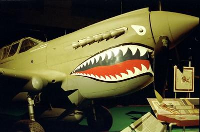 "Curtiss P-40E  ""Warhawk""  Flying Tiger"