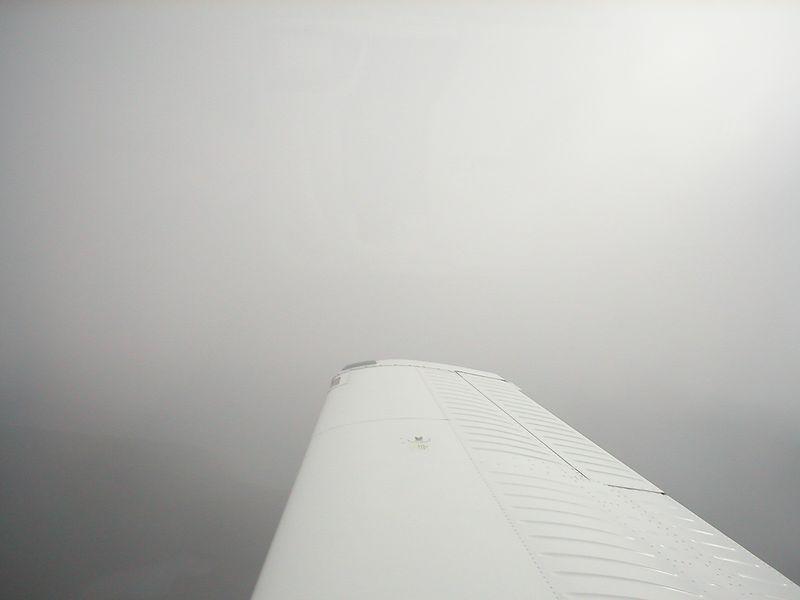 In IMC over Beaver Island Michigan