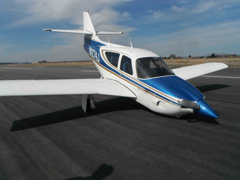 Beautiful airplane after the nosegear hydraulic lock failed.  Does anyone know where I can get new landing gear doors and a new hydraulic lock?