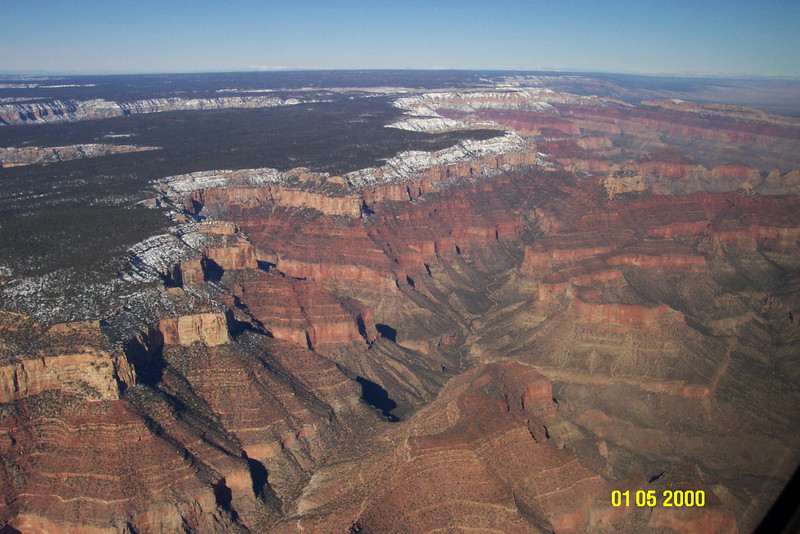 Northern part of the Grand Canyon. (Date is wrong on the camera.)