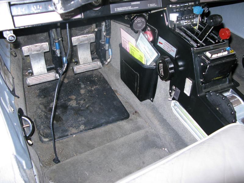 Floor & quadrant - before