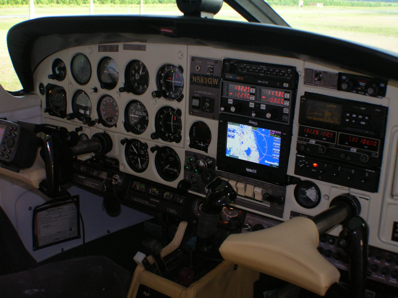The panel in N583GW