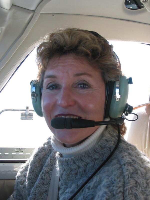 My Lovely Co-Pilot Joyce