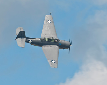 Douglas SBD-Dauntless dive bomber