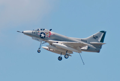 Douglas A-4 SkyHawk.  Sen McCain flew one of these in Vietnam