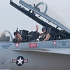 Super Hornet driver and WSO (Weapons System Officer)