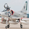 Douglas A-4 SkyHawk taxies back to the ramp